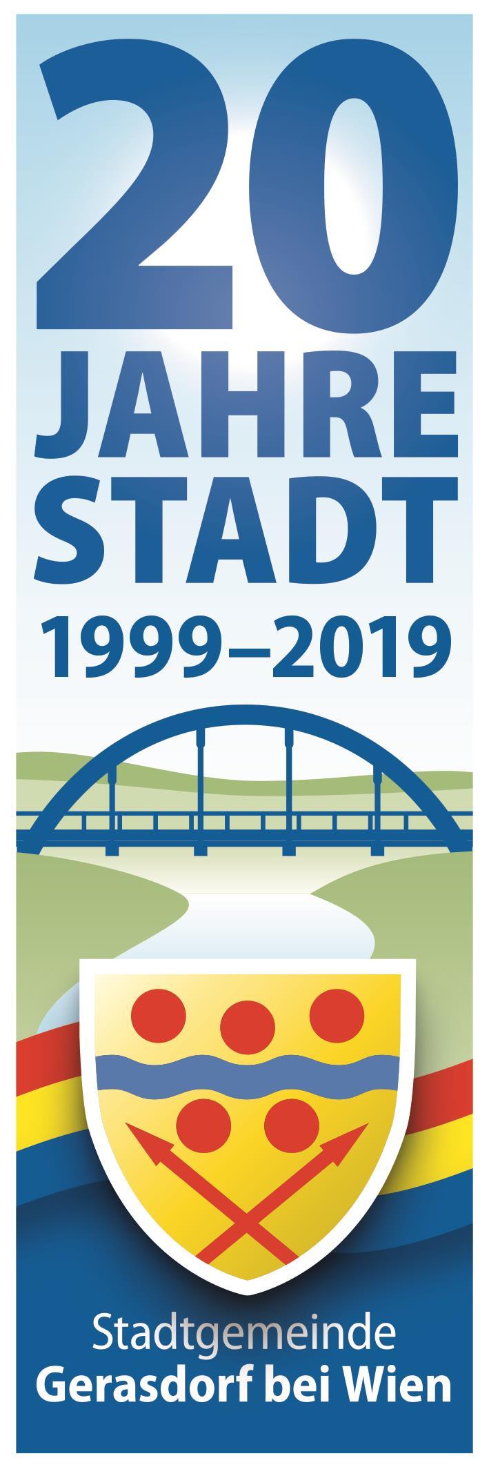 20 Jahre Stadterhebung Gerasdorf bei Wien